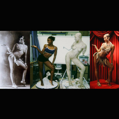 Making of Josephine Baker Wax Work for Madame Tussauds New York