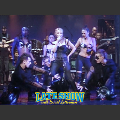 Kylie on David Letterman 2004